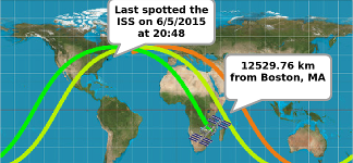 ISS Tracker
